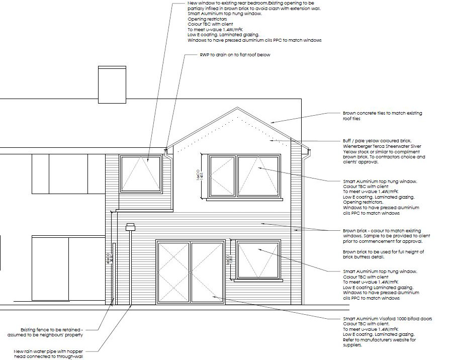 Maidstone home rear extension